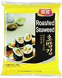 Dongwon Seetang, geröstet, für Sushi, 1er Pack (1 x 125 g Packung) -