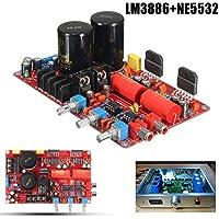AC20V-28V LM3886+NE5532 68W+68W 4-8 Ohm Amp Power Amplifier Board