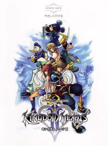 Kingdom Hearts II Piano Solo Sheet Music by Square Enix (2008-05-04)