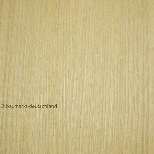 Echtholzfurnier mit Schmelzkleber 30cm Eiche amerikanisch -