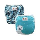 Alva Baby Baby Mädchen (0-24 Monate) Trainerhose Sets SWD35-40 All-in-one