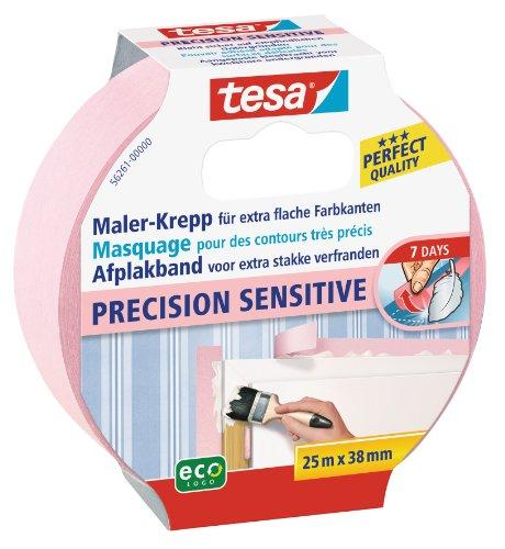 """Tesa 56261-00000-00 - Nastro per mascheratura """"Precision Sensitive"""", per lavori di precisione, 25 m x 38 mm"""
