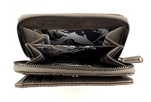 SURI FREY Romy Wallet M Taupe Bronze