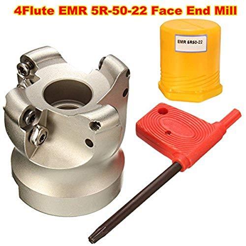 ChaRLes Emr 5R-50-22 4 Flautas Cara Final Mill Cortador