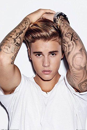 GB Eye Justin Bieber, Haar Maxi Poster, Mehrfarbig, 61x 91,5cm