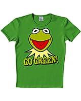 Muppet Show - Kermit Go Green T-Shirt, High-Quality