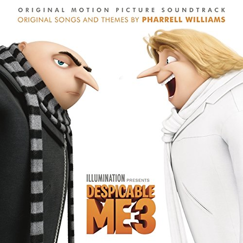 Despicable me 3 : BO du film de Pierre Coffin, Kyle Balda & Eric Guillon