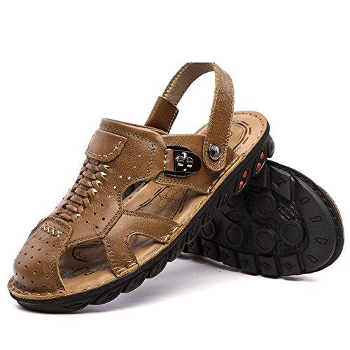 Casual sandales d'été/Sandale hommes Baotou/chaussures antidérapantes à fond épais/vêtements de plein air sandales B