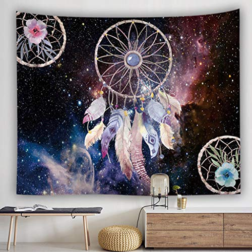 Saingace - Tapiz de Pared con diseño de atrapasueños Tapestry, Bed Sheet, Comforter Picnic Beach Sheet, Calidad Hippie
