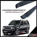 Schwellerrohre Aluminium Trittbretter für Land Rover Discovery 3/4 Dolunay (193)
