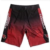 Klew NFL Arizona Cardinals Farbverlauf Board Shorts