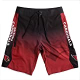 Forever Collectibles klew NFL Arizona Cardinals Farbverlauf Board Shorts, Herren, Arizona Cardinals Gradient Board Short Extra Large 36, Arizona Cardinals, X-Large