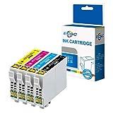 ECSC Kompatibel Tinte Patrone Ersatz für Epson XP-455 XP-452 XP-445 XP-442 XP-435 XP-432 XP-355 XP-352 XP-345 XP-342 XP-335 XP-332 XP-257 XP-255 XP-247 XP-245 XP-235 T2996 (B/C/M/Y, 4-Pack)