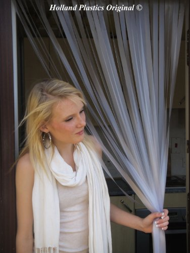 2x Holland Plastics Standard PVC Door Strip Curtain Blind 80cm x 200cm