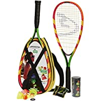 Speedminton Set S600, colour verde/amarillo/rosa, 400065