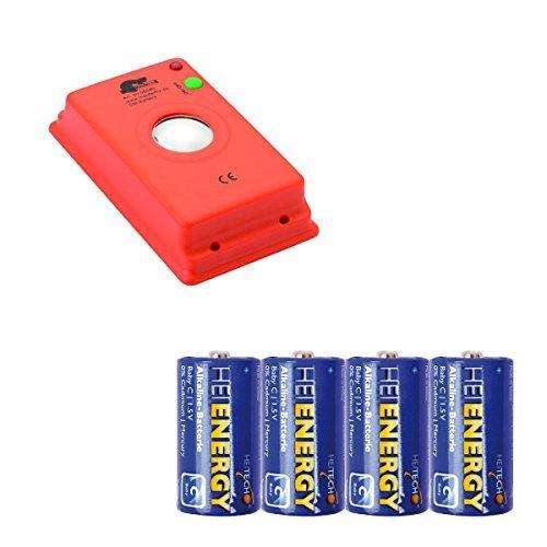 Preisvergleich Produktbild MARDERfix - Akustik Batterie - inklusive 4 Heitech Baby/C Batterien