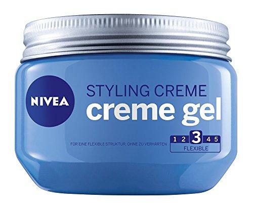 Nivea, Gel per capelli Creme Gel, 3 pz. da 150 ml