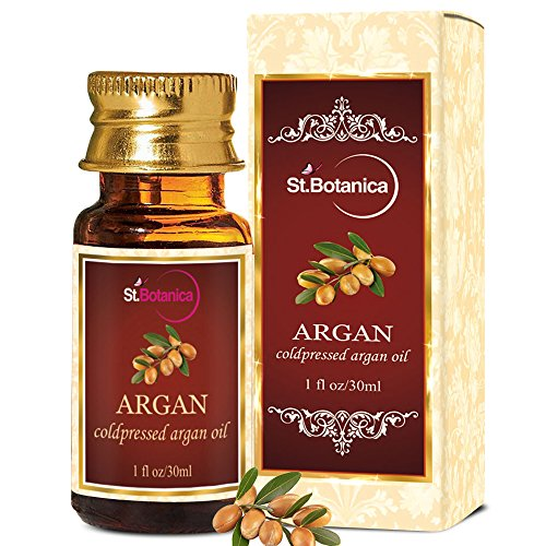 StBotanica Argan Pure ColdPressed Oil, 30ml - For Hair & Skin Care