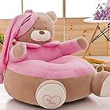 WAYERTY Kindersofa, Kinder Sofa Mini Cartoon Baby- kindersitz Boy und Girl Single Faul Lesen Polstermöbel Schlafzimmer Mini-Sessel-A W55xH55cm(22x22inch)