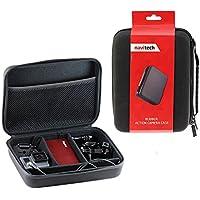 Navitech noir protection anti-choc housse étui de rangement pour Crosstour Caméra Sport 4K Ultra HD Wi-Fi avec Télécommande Appareil Photo Caméscope