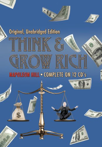 Think and Grow Rich (Original, Unabridged Edition 12 CD Set) by Napoleon Hill (2010-11-07)