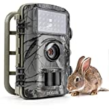Gosira Trail Game Cameras 1080P HD Night Vision Latest 940nm No Flash Infrared