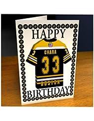 Boston Bruins NHL National Hockey League Tarjeta de cumpleaños