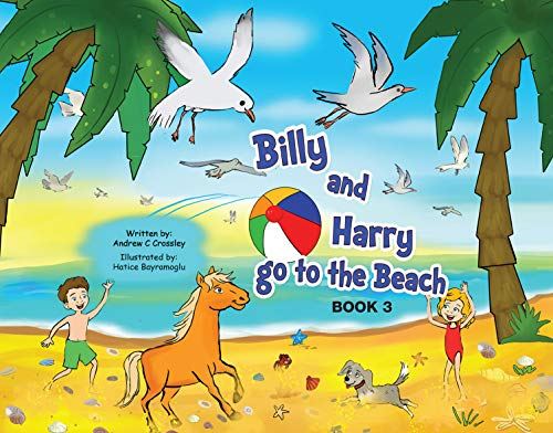 Billy and Harry go to the Beach (Billy and Harry Adventures Book 3) (English Edition)