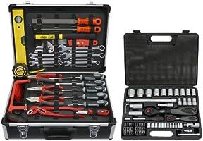 Famex 744-48 Universal Werkzeugkoffer mit Steckschlüsselsatz
