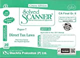 Shuchita Prakashan's Solved Scanner For CA Final Group II Paper 7 : Direct Tax Laws November 2017 Exam