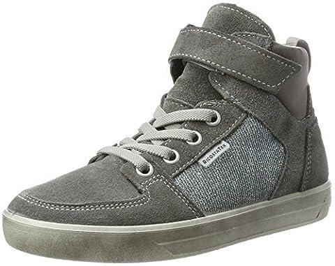 Ricosta Mädchen Marle Hohe Sneaker, Patina/Himmel, 00035 EU (Ricosta 35)