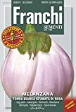 "Franchi Seeds of Italy""Aubergine Tonda Bianca Sfumata di Rosa"" Seeds"