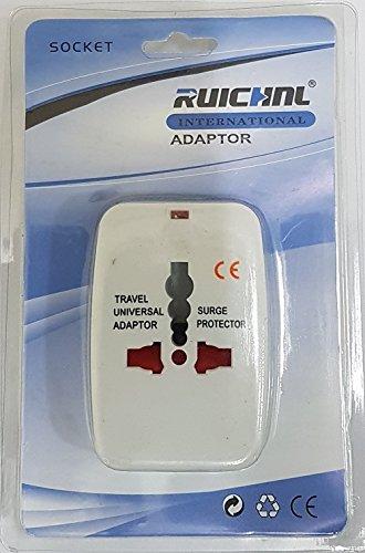 Ruichnl internazionale adaptor Duo Plug Adapter (UK-EU)