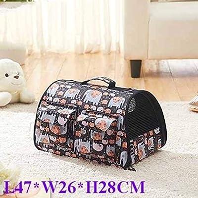 Tragetasche, wasserdichter Haustierrucksack, tragbares Paket mit Seitentaschen, Katzenpaket, Haustierpaket
