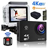 Action Kamera 4K/30FPS Wasserdicht, Sports cam 16MP Wi-Fi Unterwasser Kamera 30M 2.0 Zoll...
