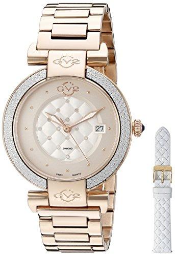 Gevril Reloj con movimiento cuarzo suizo Woman Berletta 37 mm