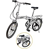 Bicicleta plegable folding 20 carrefour