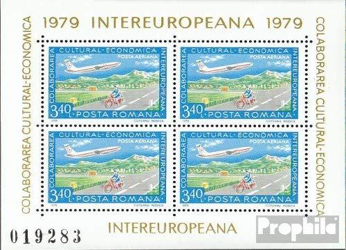 Prophila Collection Rumänien Block158 (kompl.Ausg.) 1979 INTEREUROPA (Briefmarken für Sammler) Luftfahrt