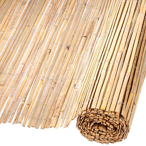 Canisse en bambou fendu naturel