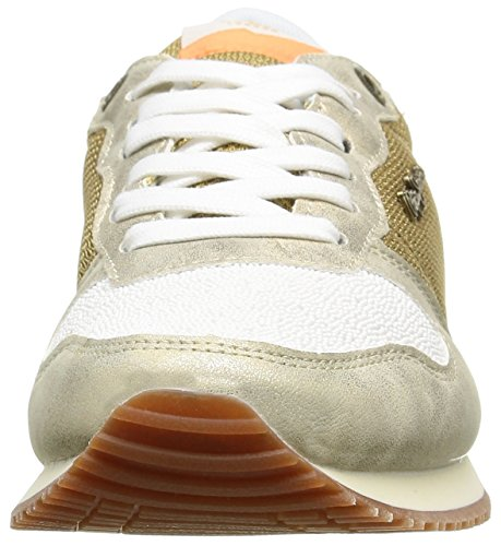 Pepe Jeans London Gable Oro Damen Sneakers Oro (099 Oro)