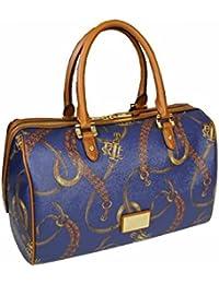 Ralph Lauren Women\u0026#39;s Top-Handle Bag blue navy