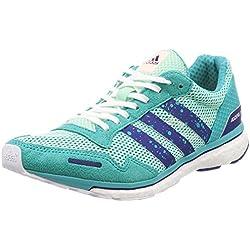 Adidas Adizero Adios 3 w, Zapatillas de Trail Running para Mujer, (Mencla/Tinmis/Agalre 000), 40 EU