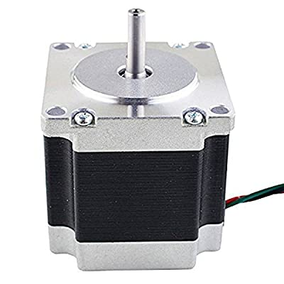 UEETEK Nema 23 Stepper Motor 2.8A 178.5oz.in/1.26Nm Stepping Motor for 3D Printer DIY CNC