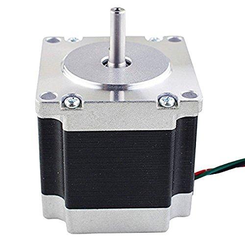 ROSENICE Nema 23 Stepper Motor CNC-Schrittmotor Bipolar 2.8A 178.5oz.in 1.26Nm - Nema Netzteil
