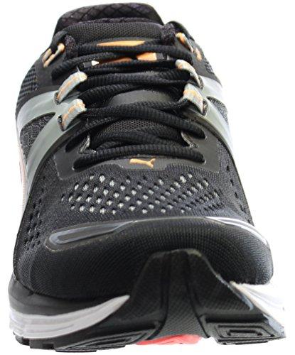 Puma Speed 600 Ignite Synthétique Baskets Black-Quarry-Orange Pop