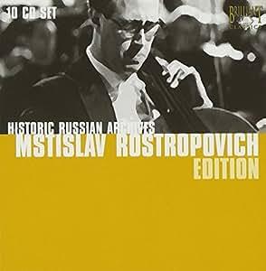 Historic Russian Archives: Rostropovich Edition by Brilliant Classics