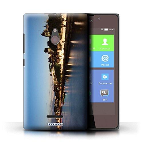 Kobalt® Imprimé Etui / Coque pour Nokia XL / London Eye conception / Série Londres Angleterre Rivière Thames