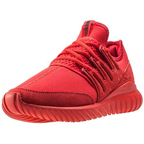 adidas  Tubular Radial J, chaussure de sport Unisexe - enfant red
