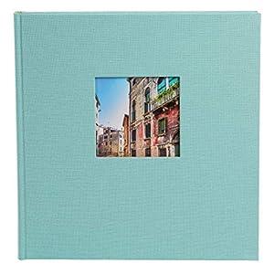 Goldbuch-Fotoalbum-mit-Fensterausschnitt