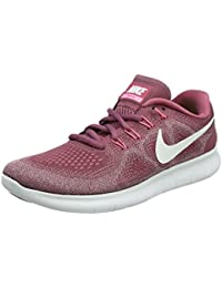 NIKE Free RN 2017, Scarpe Running Donna, Rosso (Vintage Wine/off White-Elemental Rose-Sunset Pulse 604), 38 EU